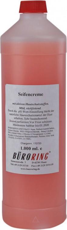 Seifencreme mild, für Fripa Spender, rosa,1 Liter,rückfettend,
