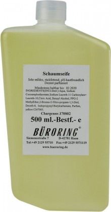 Seifenkonzentrat mild,für CWS-Best- Foam-System, gelb, hautfreundlich