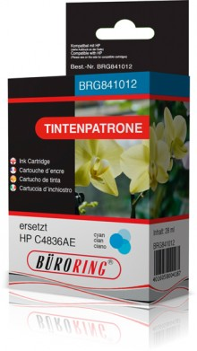 Tintenpatrone cyan für HP Business Inkjet 1100d,1100dtn,