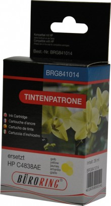 Tintenpatrone yellow für HP Business Inkjet 1100d,1100dtn,