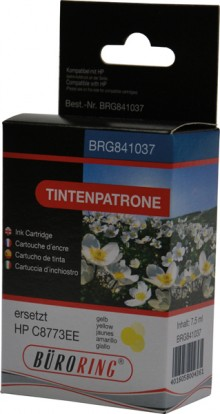 Tintenpatrone yellow für HP Photosmart 3210,3310,8250,C5180