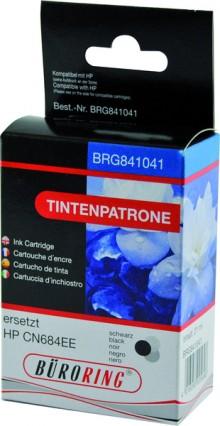 Tintenpatrone schwarz für HP Photosmart B8550,C53244,C5380,C63244,