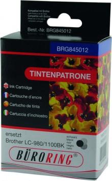 Tintenpatrone schwarz für Brother DCP-145C,-165C, -185C -185C,-385C