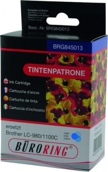 Tintenpatrone cyan für Brother DCP-145C,-165C, -185C -185C,-385C