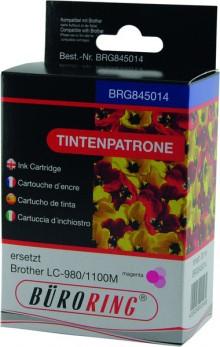 Tintenpatrone magenta für Brother DCP-145C,-165C, -185C -185C,-385C