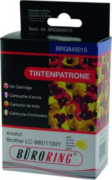 Tintenpatrone yellow für Brother DCP-145C,-165C, -185C -185C,-385C