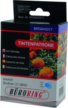 Tintenpatrone cyan für Brother für DCP-J-125,-315W,-515W