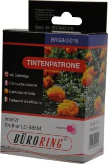Tintenpatrone magenta für Brother für DCP-J-125,-315W,-515W