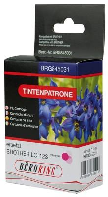 Tintenpatrone magenta für Brother, DCP-J132W, DCP-J152W, DCP-J172W,