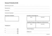 Fristenkontrolle, A5, quer, rot, gelocht, 100 Blatt je Block