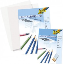 Transparentpapier A3 80g/qm 25 Blatt, Architektenpapier