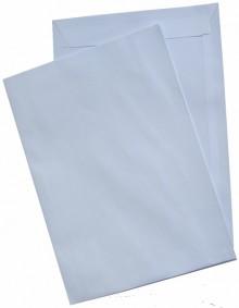 Versandtasche, FSC, C4, Haftklebung, weiß, 120g, it grauen Inneneindruck