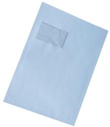 Versandtasche, C4, mit Fenster, Selbstklebend, weiß, 90g