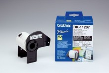 CD/DVD -Etiketten 58x58mm für Brother QL500/QL550