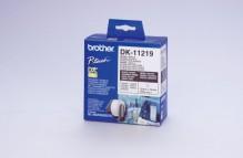 Runde Papier Etiketten 12mm weiss 1200 Etiketten