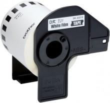 Film Etiketten 62mmx15,24m weiss für Brother QL500/QL550/QL-500A/