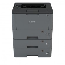 Laserdrucker HL-L5100DNKEY, 3 ab- schließbare Papierfächer, inklusiv