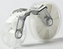 Bandkassette weiß MC-PP2WH 38mmx300m, Plastikband,f. Tape Creator TP-M5000N