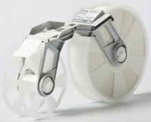 Plastikbandkassette transparent, 50mmx300m, MC-PP3CL f. Tape Creator