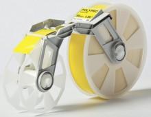 Bandkassette gelb MC-PP3YE 50mmx300m, Plastikband,f. Tape Creator TP-M5000N