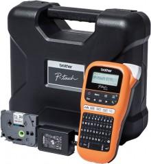 Beschriftungsgerät P-Touch E110 für TZe-Schriftbänder in 3,5-12 mm Breite