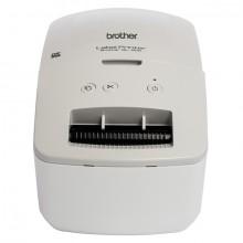 Etikettendrucker QL-600, grau/weiß thermodirektdruck, USB 2.0