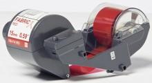 Textilfarbband rot RB-FA1RD 15mmx300m, für Tape Creator TP-M5000N