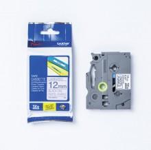 Schriftbandkassette TZE-MQF31 laminiert, 12 mm x 4 m,