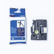 Schriftbandkassette TZE-RN34 12 mm x 4 m, Textilband