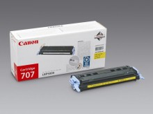 Toner Cartridge 707 yellow für LBP-5000, LBP 5100