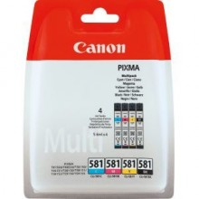 Multipack CLI581XL CMYK Photo für PIXMA TR7550, TR8550, TS6150,
