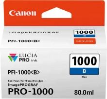 Tinte PFI-1000B für Pro-1000, blau, Inhalt: 80 ml