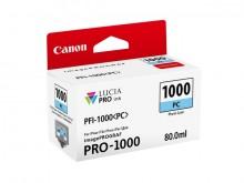 Tinte PFI-1000PC für Pro-1000, photocyan, Inhalt: 80 ml