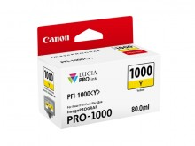 Tinte PFI-1000Y für Pro-1000, gelb, Inhalt: 80 ml