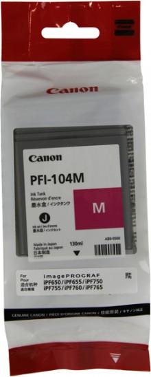 Tinte PFI-104M, magenta für iPF650 iPF655,iPF750,iP755