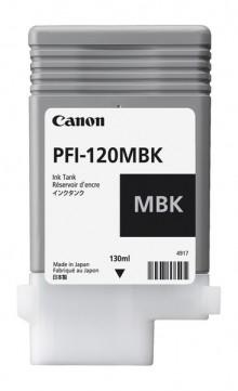 Tinte PFI-120MBK, mattschwarz für iPF TM200, TM205, TM300, TM305