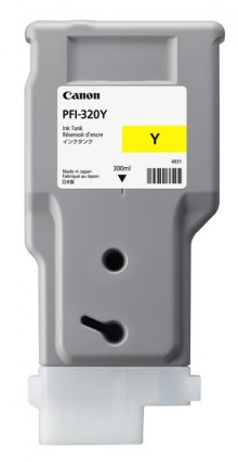 Tinte PFI-320Y, gelb für iPF TM200, TM205, TM300, TM305