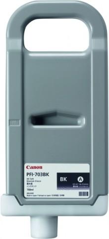 Tinte PFI-703MBK, mattschwarz für IPF810, IPF815, IPF820, IPF825