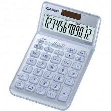 Tischrechner JW-200SC , hellblau 12-stelliges Display, 4-Tasten