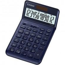 Tischrechner JW-200SC , navy-blau 12-stelliges Display, 4-Tasten