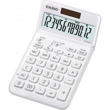 Tischrechner JW-200SC , weiß 12-stelliges Display, 4-Tasten