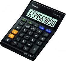 Tischrechner MS-100 TER II, schwarz, 10-stelliges Display, TAX-Funktion,