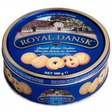 Danish Butter Cookies, 500 g, Dose teilweise mit Streuzucker