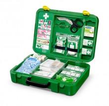 Erste Hilfe Koffer mit integriertem Pflasterspender, DIN 13157, inklusive