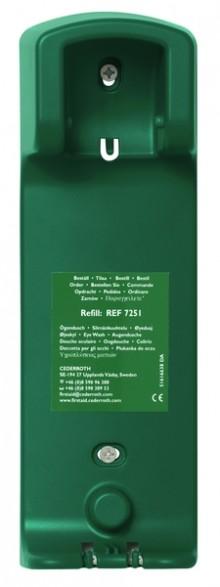 Flaschenhalter für Augenspülung, 500 ml, Maße (BxHxT): 9 x 27 x 7 cm