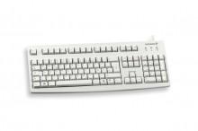 Tastatur Cherry Standard deutsch grau, Kabelgebunden, Länge: 1,8 m