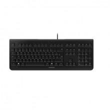 Tastatur Cherry KC 1000, deutsch schwarz, flach, Kabelgebunden