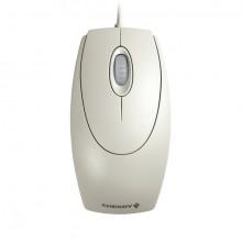 Optical Wheel Mouse, kabelgebunden, hellgrau, 3 Tasten, Kabel: 1,8 m