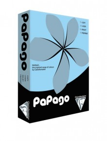 Kopierpapier Papago A3, 80g, blau pastell