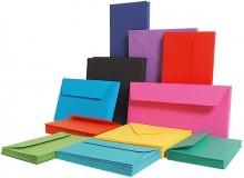 Farbiges Papier A4 160g Kanariengelb 50 Blatt